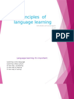 principles of language learning  1
