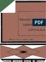 Revista 13 Universidad Católica del Ecuador