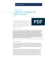 Citigroup on Engaging the Digital Customer