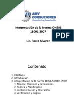 INTERPRETACION OHSAS 18001