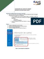 Configuracion Del Cliente de Correo Microsoft Outlook 2010 o 2013