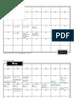 dunlap calendar