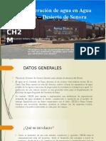Jueves Regeneración de Agua en Agua Nueva – Desierto