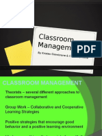 Classroom Management Slides