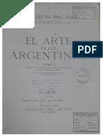 José León Pagano - El Arte de Los Argentinos (Prefacio + El arte jesuítico)