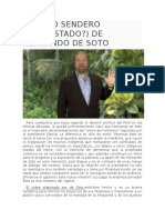 El Otro Sendero (Despistado) de Hernando de Soto