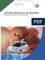 Manual Elementos Dispositivos Electronicos Seguridad Volkswagen Cinturones Airbags Sistemas Abs Asr Msr Diagramas