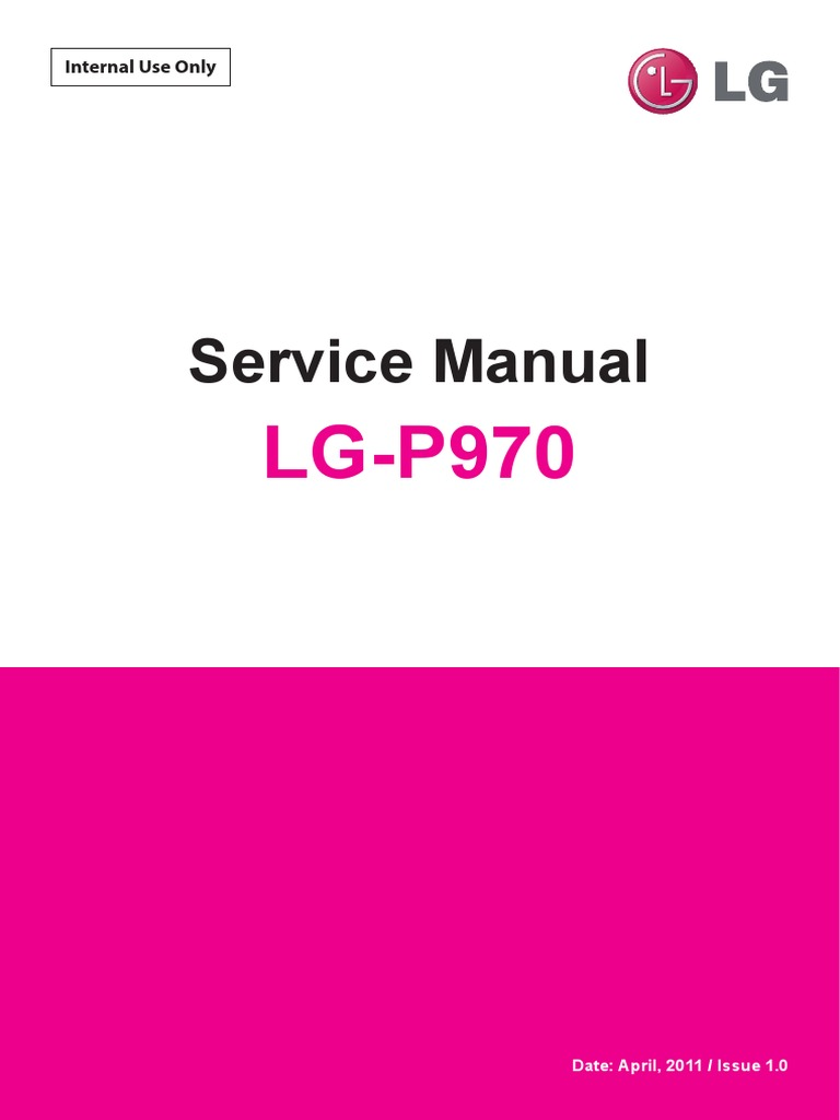 Lg P970 Optimus Black Service Manual En Gps Circuit Assemblydata Collection Board Assembly