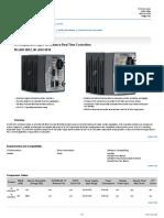 Controller NI Datasheet CRIO 9014