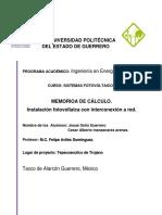 Memoria de Calculo Proyecto Final.