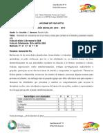 Informes y Boletines Rocelis Mayo 2015