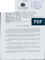 Rules of the NBOC for Senators and Party-List Representatives