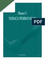 Materi 3 Neraca Pembayaran1