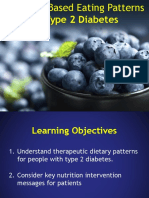 A Plant Based Diet for the Treatment and Prevention of Type 2 Diabetes