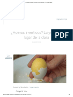 ¿Huevos Invertidos_ Descubre Cómo Hacerlos en 7 Simples Pasos