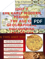 unit 7 the early modern period and the age of discoveries