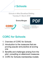 Corc for Schools Sim Breakfast Briefing