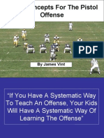 Basic Concepts For The Pistol Offense