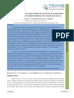 31. Ijasr - Studies on Molecular Characterisation of Elite Bc3f3 Progenies