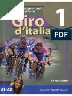 Giro d'italiano 1. Olasz nyelvkönyv
