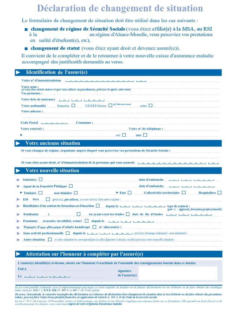le formulaire s3705