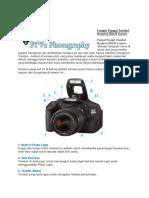 Fungsi Fungsi Tombol Kamera Dslr Canon