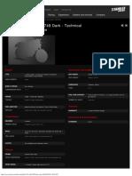 DUCATISUPERBIKE - 749 Dark - Technical Specs