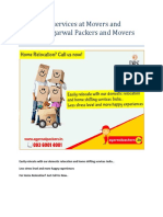 Relocation Services at Movers and Packers - Agarwal Packers and Movers _DRS Group