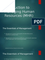 2. Lecture 2 - HRM Intro