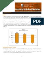 Quarterly Bulletin of Statistics Q4 2015