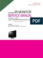 LG FLATRON W2284F service manual