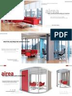 Airea E-Brochure modular phone booths