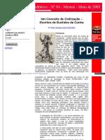 [a] Conceito de Civilização Em Euclides Da Cunha