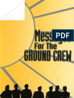 Messages for the Ground Crew