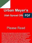Urban Meyer Offense