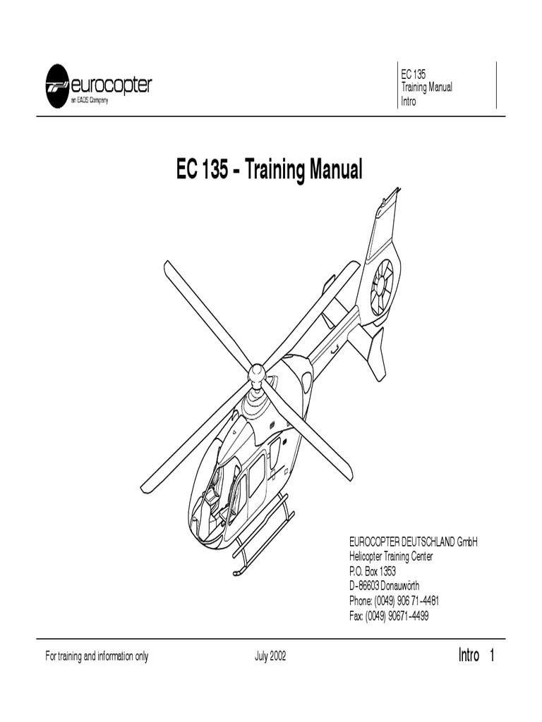 manual de vuelo ec 135 cockpit aerospace engineering rh es scribd com