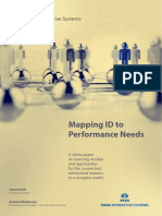 Tata Interactive Systems - Mapping ID to Performance Needs