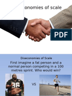 Diseconomies of Scale - Big's Work