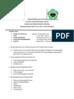 Notulen Ujian Faisal