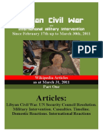 2011 Libyan War on Wikipedia as March 30th
