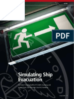 Nonstop Simulating Ship Evacuation