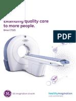 GE Healthcare Brivo CT325 Brochure