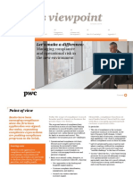 Pwc Compliance Operational Risk Management