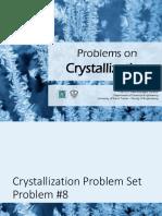 Yield Crystallization Problem