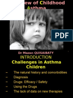 Overview of childhood asthma
