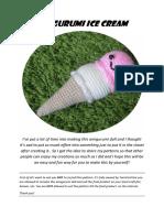 Ice Cream Pattern PDF