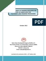Empanelment of Training Partners (2)