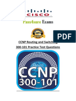 CCNP Routing and Switching Pass4sure 300-101 Dumps
