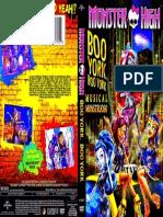 Cover Monster High Boo York Dvd