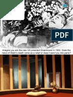 Stalin's Death (3) - General Ppt. Presentation